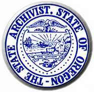'The State Archivist, State of Oregon' Seal